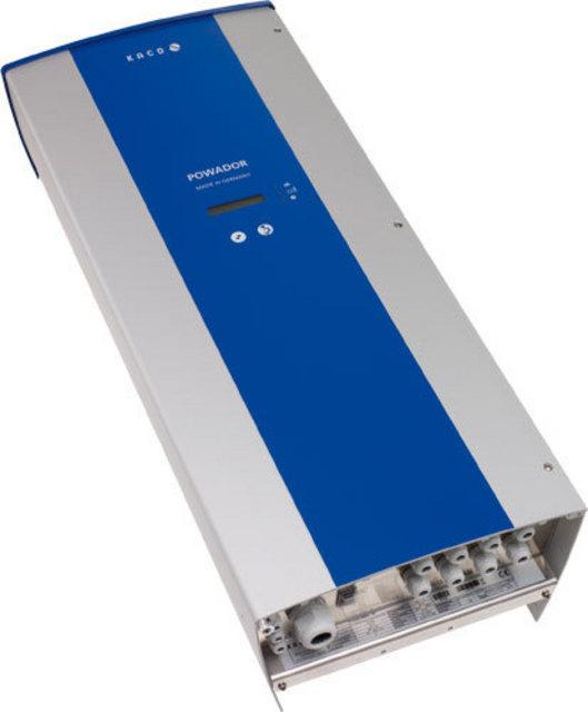 1alphasolar cz kaco powador 9600 int 8000 watt grid inverter transformerless. Black Bedroom Furniture Sets. Home Design Ideas
